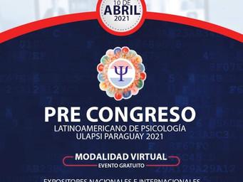Pre VIII Congreso Latinoamericano de Psicología 2021