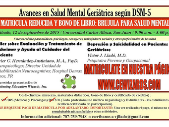 Educación Continua: Avances en Salud Mental Geriátrica según DSM-5