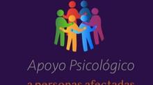 ENCUENTRO VIRTUAL | Apoyo psicológico para personas afectadas por los terremotos