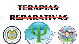 Organizaciones se unen a la APPR para expresarse en contra de las terapias reparativas