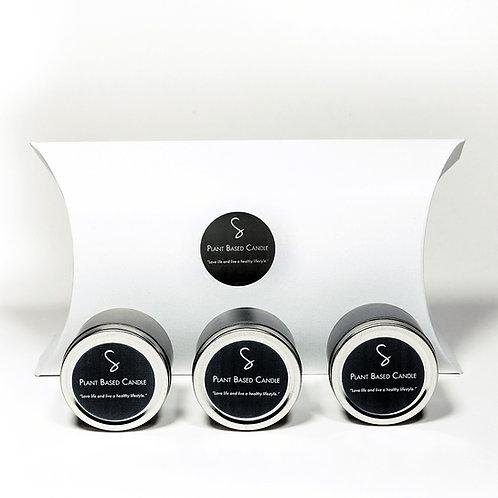 Trial Size Pack / Floral Fruit Candles 3 – 2oz/57gr ea