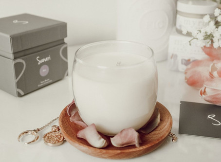 SANARI CANDLES REVIEW / MINDFUL MONDAYS