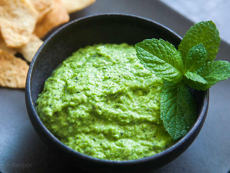 Friday Fix: Spicy Mint Infused Hummus