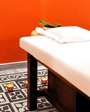 Massage room at Sumahan Hotel.