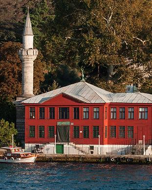 Kaymak Mustafa Pasa Mosque as seen from the Bosphorus.