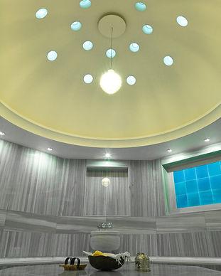 Traditional hamam Turkish Bath at Welness Center of hotel.