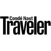 Conde Nast Traveler logo.