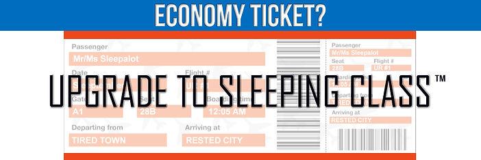 Economy Ticket - Upgrade to Sleeping Cla
