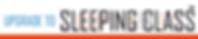 Upgrade to Sleeping Class Retail Logo La