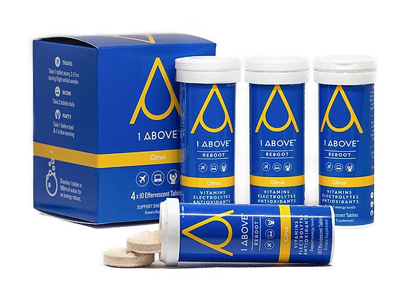 1Above Reboot, 4 Pack (4x10 tablets)