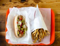 Chattanooga, TN hot dogs, vegitarian