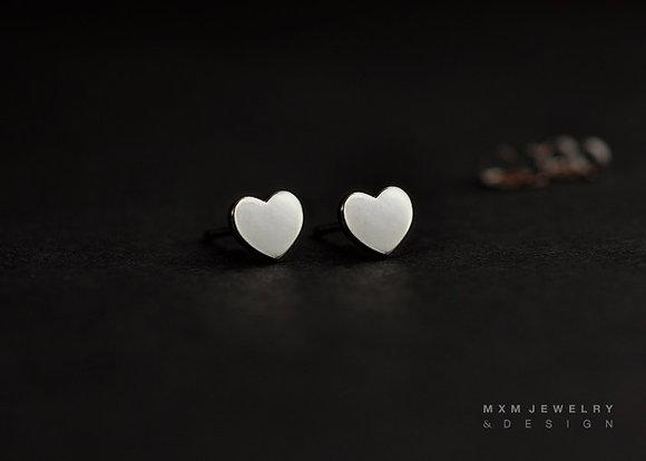 Little Heart Stud Earrings