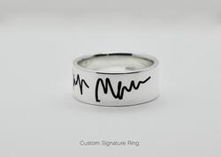 Custom Signature Ring