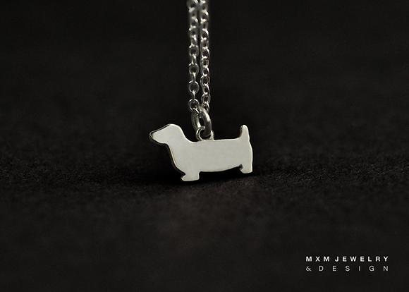 Dachshund / Basset Dog Necklace