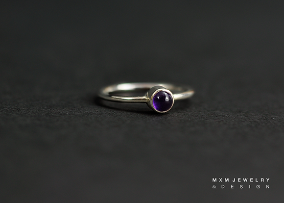Amethyst Gems Ring