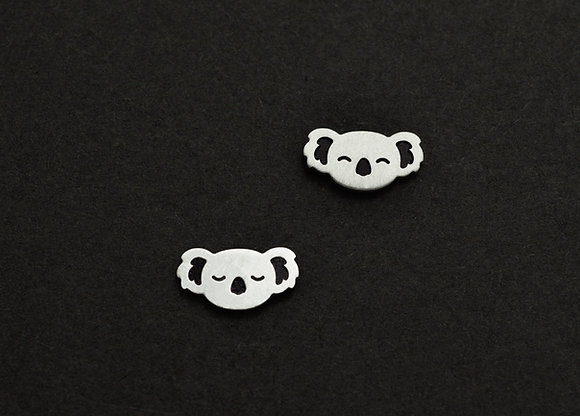 Happy & Sleeping Koala Stud Earrings