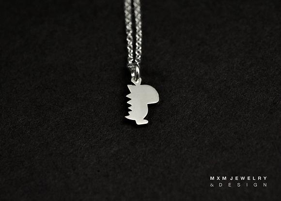 Baby Dinosaur Necklace