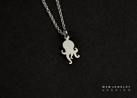 Little Octopus Necklace