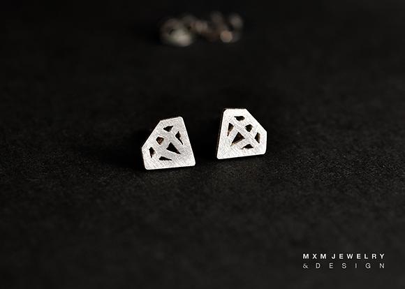 Little Diamond Stud Earrings