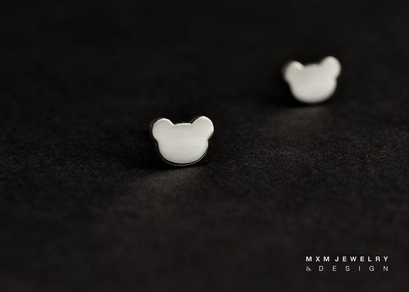 Little Bear Stud Earrings