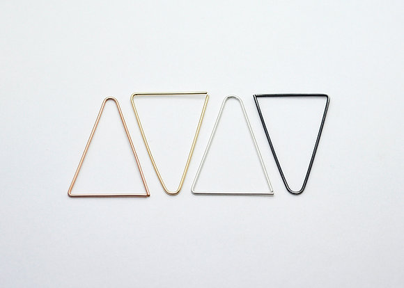 Tall Triangle Earrings