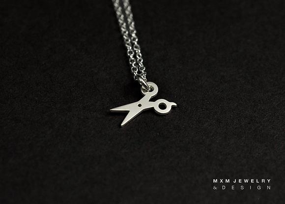 Little Scissor Necklace
