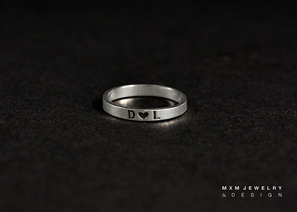 Personalized Simple Ring