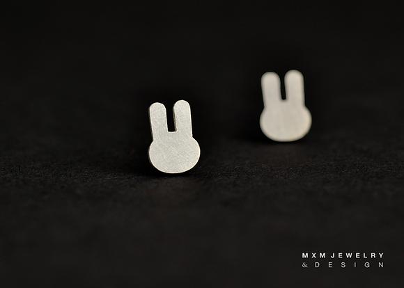 Bunny / Rabbit Stud Earrings