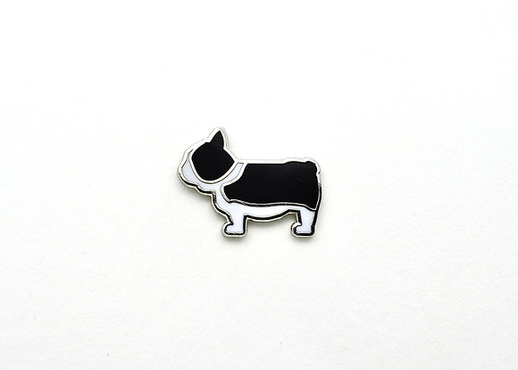 French Bull Dog Enamel Pin