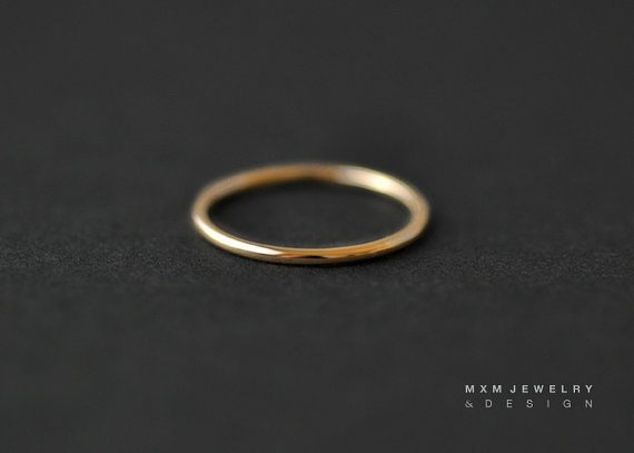 Smooth Stackable Ring