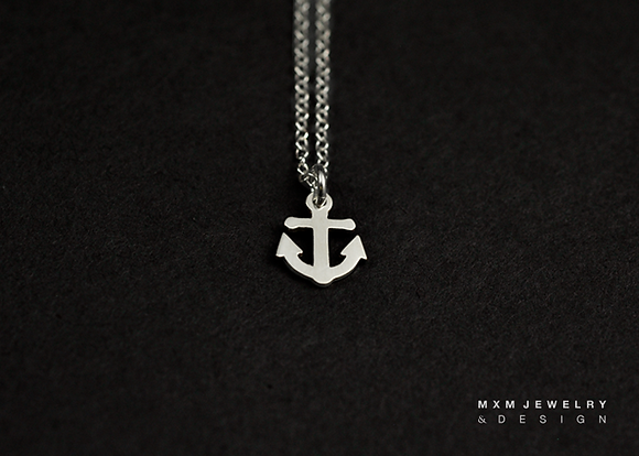 Little Anchor Necklace