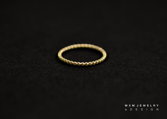 Dotted Stackable Ring