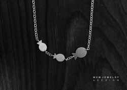 3 Fish Necklace
