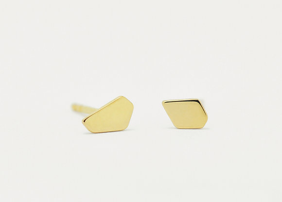 Abstract Geometric Stud Earrings