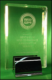 Award given to Innovative Timing Systems for RFID race timing technology