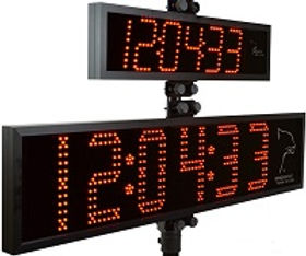Jaguar Digital Clock