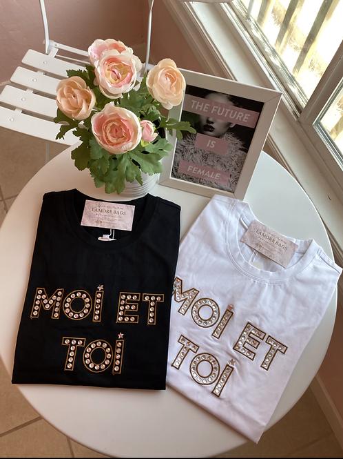 White Me & You Fashion Shirt