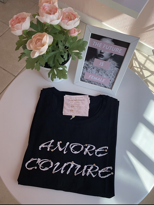 Amore Couture Plus Size  Fashion T-Shirt