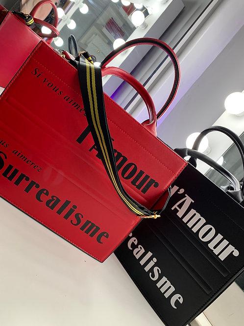 Red Latiste Tote Bag