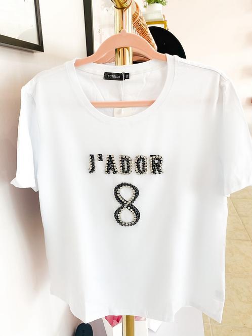 J'ador Plus Size Fashion T-Shirt