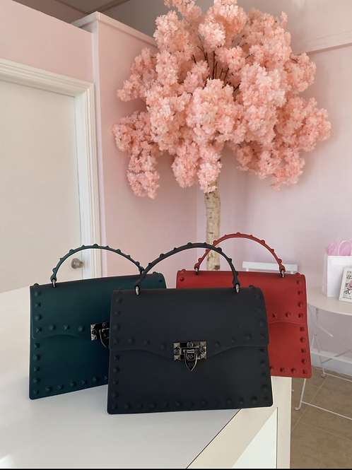 Black Sofia Handbag