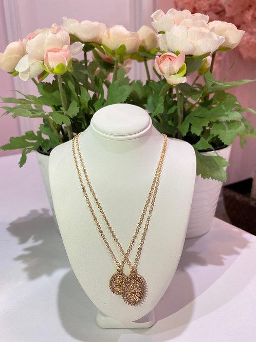 Virgencita Necklace Set
