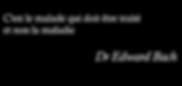 Citation Dr Edward Bach