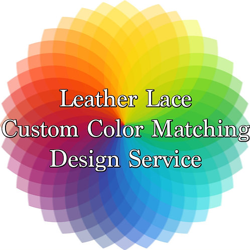 Custom Color Matching Service-3mm Lace