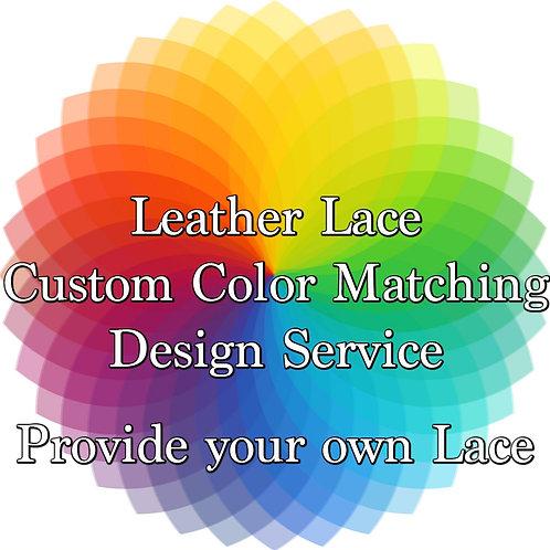 Custom Color Design Service-You Provide the Lace