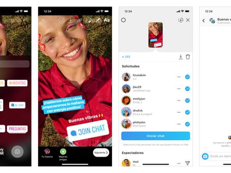 ¿Qué es 'Chat Sticker' y en qué consiste lo nuevo de Instagram Stories?