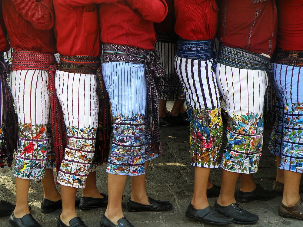 Procesión de Semana de Pascua en Santiago Atitlán, Guatemala Credit Carmen Petzey/Fotokids 2018