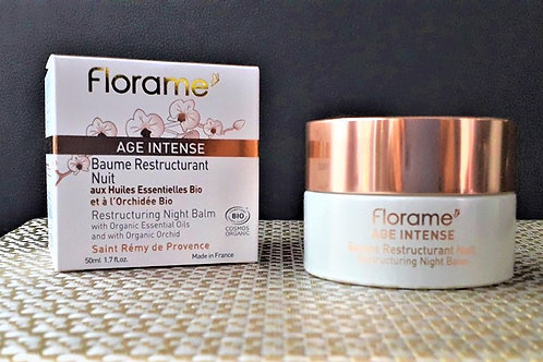 """SOIN VISAGE - Florame """"Age intense"""" - Baume Restructurant Nuit Anti-rides  50 ml"""