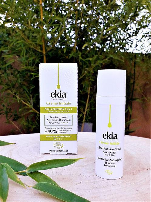 """SOIN VISAGE - Ekia """"Crèmes"""" - Crème Initiale anti-rides Peau normale Mixte 30 ml"""