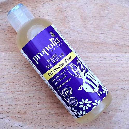 """SOIN CORPS - Propolia """"Nettoyant"""" - Gel douche doux au miel 200 ml"""